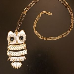 Aldo Owl Necklace